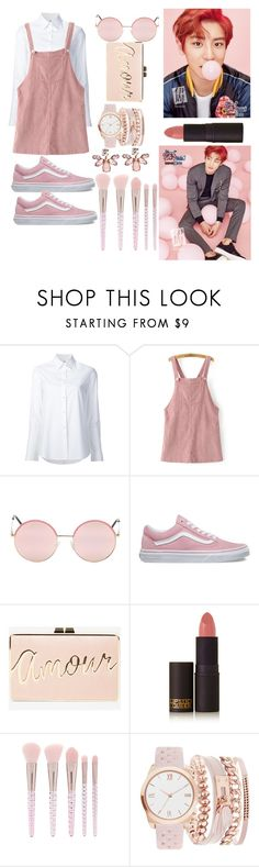 """""""chanyeol blush"""" by egsmith520 ❤ liked on Polyvore featuring Misha Nonoo, WithChic, Vans, MABEL, BCBGMAXAZRIA, Lipstick Queen, Forever 21, A.X.N.Y. and Marchesa"""