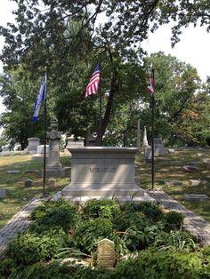 Wright Brothers tomb, Dayton, Ohio