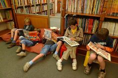 The reading room Belgian comic strip center