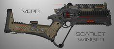 Vepr Relics - Scarlet Winger by prokhorvlg on DeviantArt