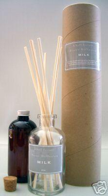 K.Hall Designs Milk (Vanilla, Coconut & Milk) Scented Reed Oil Diffuser by K. Hall Designs
