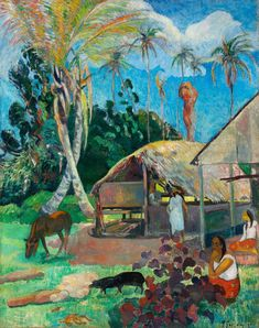 Paul Gauguin: The Black Pigs, 1891