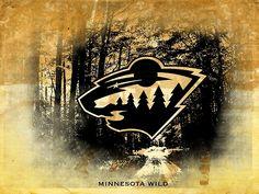 Minnesota Wild in the woods logo Sports Teams, Sports Logo, Wild Hockey, Wood Logo, Nhl Logos, Hockey Stuff, Minnesota Wild, Guy Stuff, Annie