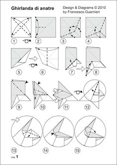 diagramms, Ghirlanda di anatre - Garland of ducks © by Francesco Guarnieri