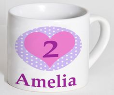 Girls Birthday Gift, Personalised Cups, Girls Birthday Cup, Age birthday cup, Tddler Cups by TigerlilyprintsLtd on Etsy