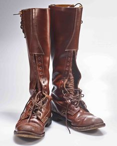 Boots of the Royal Canadian Mounted Police, RCMP. Riding Boots, Combat Boots, Men Boots, Aldo Boots, Country Attire, Le Polo, Mens Attire, Tall Leather Boots, Equestrian Outfits