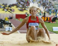 Darya Klishina - Russian long jumper