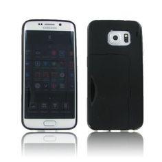 Samsung Galaxy S6 Edge Crystal Black Skin Case