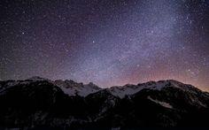 Milky Way over Germany