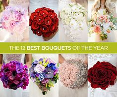 From lush flowers to eye-catching accessories, you're not going to be able to take your eyes off of these fabulous floral arrangements. Here are our 12 best bouquets of the year.