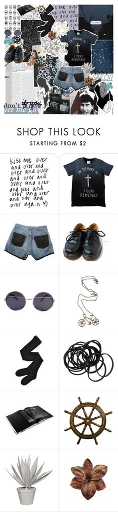 """""""5sos // the bandoms."""" by thvnderstrvck ❤ liked on Polyvore featuring INDIE HAIR, Episode, Dr. Martens, Ksubi, Fogal, H&M, GESTALTEN, Stray Dog Designs, Clips and Comeco"""