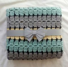 Retro Baby....Buggy Blanket - The pattern comes as a downloadable PDF with clear instructions and easy to follow charts for those of you who prefer something more visual. A special gift to give to a Newborn. Better still, for a limited period of time, it's FREE.