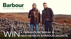 I've just entered this competition to win a luxury country break with Secret Escapes and Barbour! Enter here and don't forget to share it - if your friends share it too you'll get an extra entry: