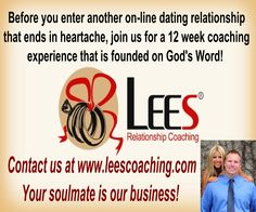 """A coaching service for singles, widows, and divorcees who are seeking the """"right"""" relationship (we are NOT a dating service). http://www.leescoaching.com/relationship/ #marriage #spiritual #relationship #christian #dating"""