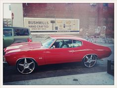 Chevelle SS on Dubs - Wythe Ave, Brooklyn