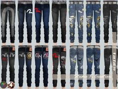 Sims 4 CC's - The Best: Jeans for Kids by Karzalee