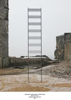 OBJECTS AND INSTALLATIONS Silent Rise, musical Score, Sound Art, Cuban art