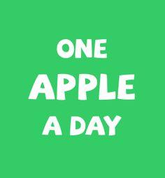Ein Apfel am Tag ist nicht nur eine gute Vitaminquelle, sondern hilft auch bei kleinem Hunger. Durch das große Volumen bei jedoch niedriger Kaloriendichte, macht ein Apfel gut satt ohne auf die Fettpölsterchen zu gehen.