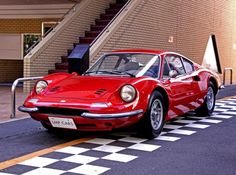 The Ten Greatest Ferraris of All Time - 3. 1971 Dino 246 GTS