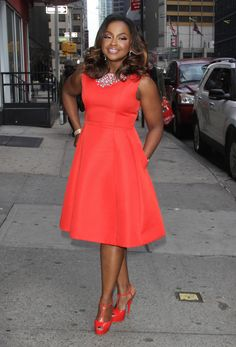 RHOA star Phaedra Parks was spotted out and about in NYC.