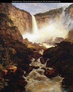 The Falls of Tequendama, 1854 - Frederic Edwin Church