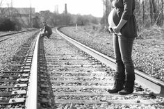 Bees and Honey Photography Photography Train tracks Maternity Couples