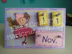 calendario hadita madera country, mdf