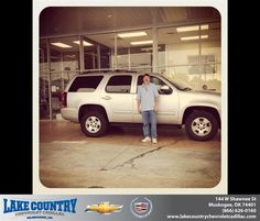 #HappyAnniversary to Rafael Narvaez Jr on your 2012 #Chevrolet #Tahoe from Jeff Hall at Lake Country Chevrolet Cadillac!