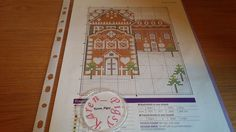 CROSS STITCH CHART GINGERBREAD HOUSE SCENE CHART BONUS PAGE CHART