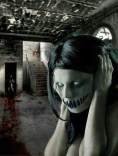 See no evil speak no evil hear no evil 💀💀💀 Scary Images, Creepy Pictures, Paranormal, Indie, Bizarre, My Demons, Creepy Dolls, Creepy Clown, Dark Photography