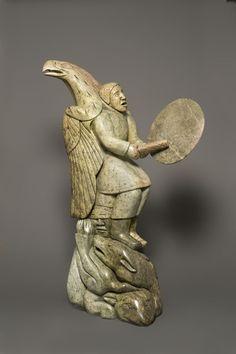 "Abraham Anghik Ruben, ""Spirits of the Great Hunt,"" 1998–1999."