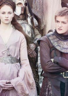Sansa Stark and Joffrey ~ Game of Thrones