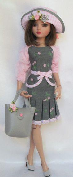 """Ellowyne's Pink and Pretty Wardrobe for 16"""" Ellowyne etc Made by Ssdesigns   eBay"""