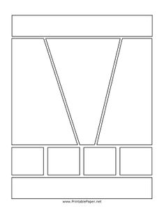 7 Best Images of Printable Comic Book Layout Template - Comic Book Template, Comic Book Template Printable and Blank Comic Book Strip Template Blank Comic Book, Comic Book Layout, Comic Books, Comic Strip Template, Superhero Template, Comic Tutorial, Yearbook Layouts, Comic Book Panels, Thinking Day