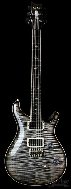 LET'S ROCK ON..PRS Paul Reed Smith Custom 24 Private Stock  Charcoal Smoked…