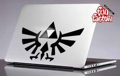 Legend Of Zelda Triforce Logo Macbook Decal Sticker 0033mac by FunDecalFactory on Etsy