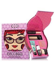 Benefit Cosmetics Girl-a-rama Full Face Kit Makeup Gift Sets, Makeup Kit, Makeup Brushes, Beauty Makeup, Makeup Dupes, Makeup Goals, Beauty Box, Benefit Cosmetics, Benefit Makeup
