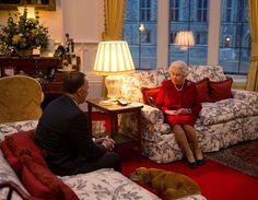 A Rare Peek Inside Queen Elizabeth's Living Room - GoodHousekeeping.com