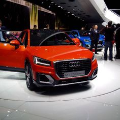 AUDI Q2 GENEVE Audi, Automobile, Volkswagen Group, Car Ins, Fast Cars, Luxury Cars, Transportation, Engineering, Montages
