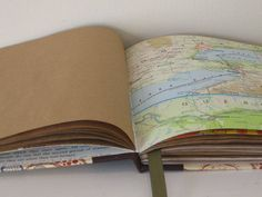 I love the idea of incorporating maps from where I am photographing into the books!