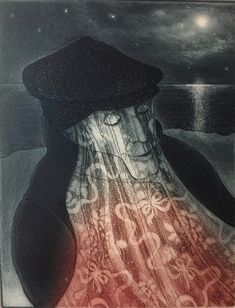 David Blackwood etching, Mummer in Lantern Light, 14 X 11 inches, Edition of 75 copies. Canadian Artists, Online Art Gallery, Art For Sale, Printmaking, Lantern, David, Fine Art, Prints, Painting