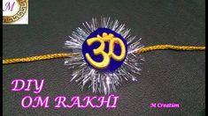 OM rakhi making/how to make OM rakhi Rakhi Making, Puppets, Om, How To Make, Handmade, Gifts, Hand Made, Presents, Favors