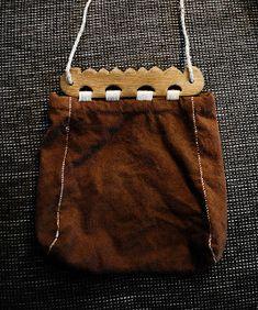 viking handcraft: Haithabu-Tasche. Oder: wovon Frau nie genug haben kann