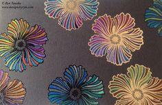Designs by Ryn: Twinkling Pinwheels (Hibiscus)