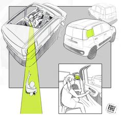 Fiat Panda: design story - Image Gallery.