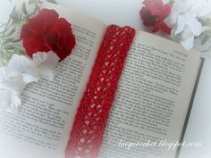 Crochet lace trim that can be turned into a bookmark