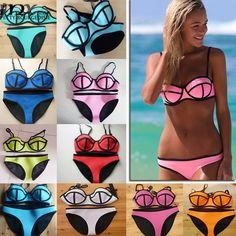 MNX 2015 Push Up Triangle Neoprene Bikini Set Sexy Swimsuit Women Underwire Swimwear Bathing Suits Brazilian Biquini Swim Suits - http://www.aliexpress.com/item/MNX-2015-Push-Up-Triangle-Neoprene-Bikini-Set-Sexy-Swimsuit-Women-Underwire-Swimwear-Bathing-Suits-Brazilian-Biquini-Swim-Suits/32370102220.html