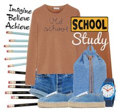 Back To School by igiulia on Polyvore featuring Lingua Franca, Manebà , Herschel Supply Co., Swatch and BackToSchool