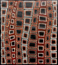 Aboriginal Artwork by Adam Reid. Sold through Coolabah Art on eBay. Cataogue ID 10018 Dot Art Painting, Abstract Art, Encaustic Painting, Polka Dot Art, Bohemian Quilt, Aboriginal Painting, Tribal Patterns, Alcohol Ink Art, Australian Art