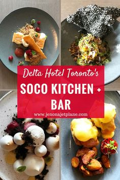 The SOCO Kitchen + Bar in the Delta Hotel Toronto is run by Chopped Canada Champion, Chef Keith Pears. If you're looking for a great place to eat in Toronto, make sure to stop by SOCO Kitchen and Bar and say hello to Chef Keith. Find out all the best things to eat. Save this to your travel board for a future visit to Canada.